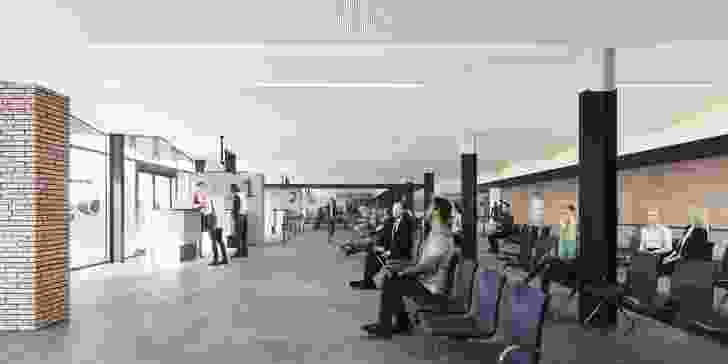 Port Hedland International Airport by Woods Bagot.
