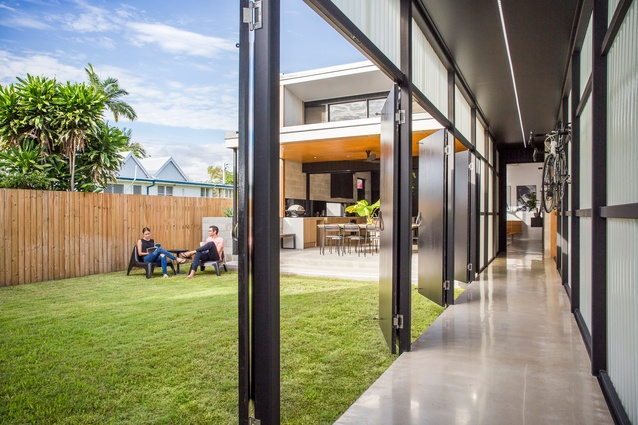 Laneway House by 9point9 Architects.