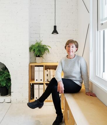 Vivianne Marston at the Marston Architects studio in Sydney.