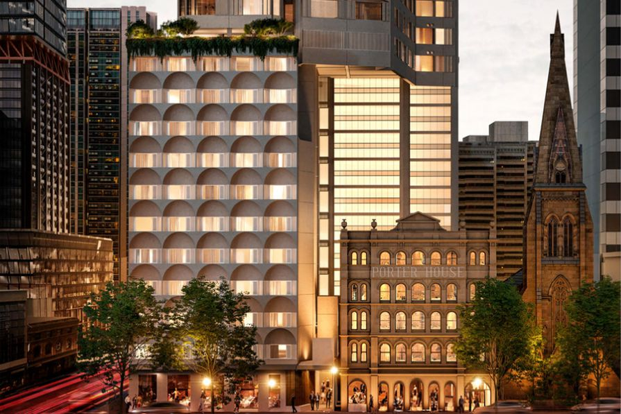 The 36-storey tower at 116 Bathurst Street designed by Candalepas Associates.