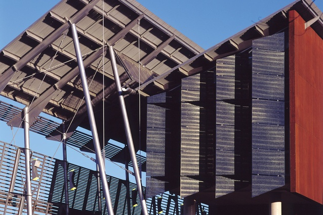 Opening: Sunshine Coast University Library, Maroochydore, Qld (1997), in association with John Mainwaring and Associates – 1998 RAIA Sir Zelman Cowen Award for Public Building.