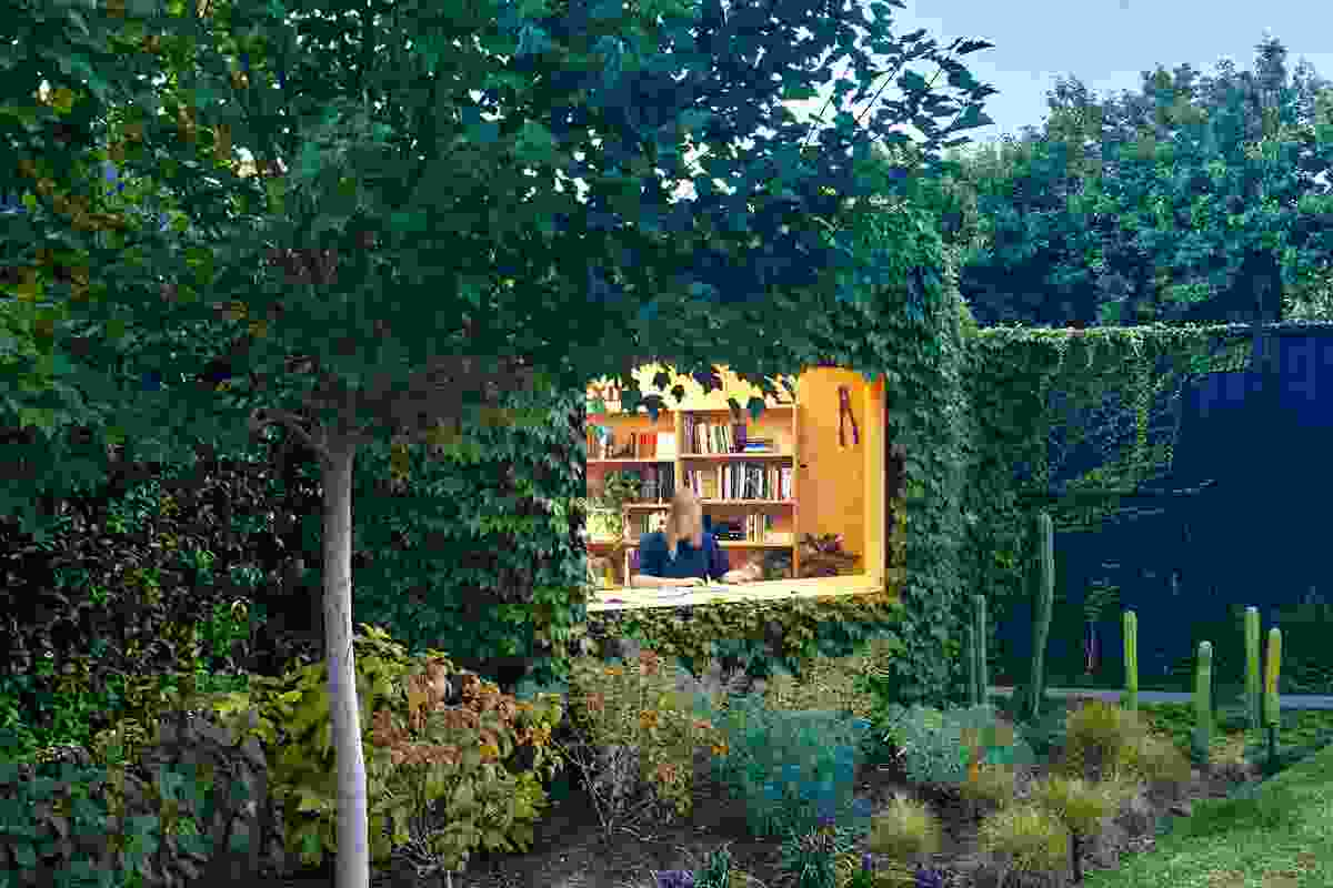 Writer's Shed by Matt Gibson Architecture and Design with Ben Scott Garden Design