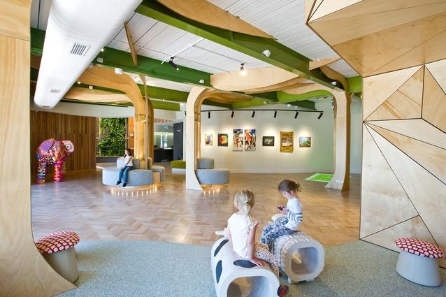 Sensory Gallery Horsham by Smith+Tracey Architects.