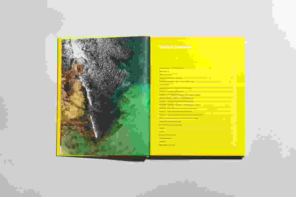 Sunshine Coast Design, layout design by Saturate.