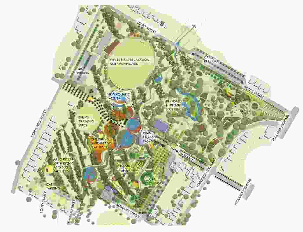 Landscape Concept Plan.