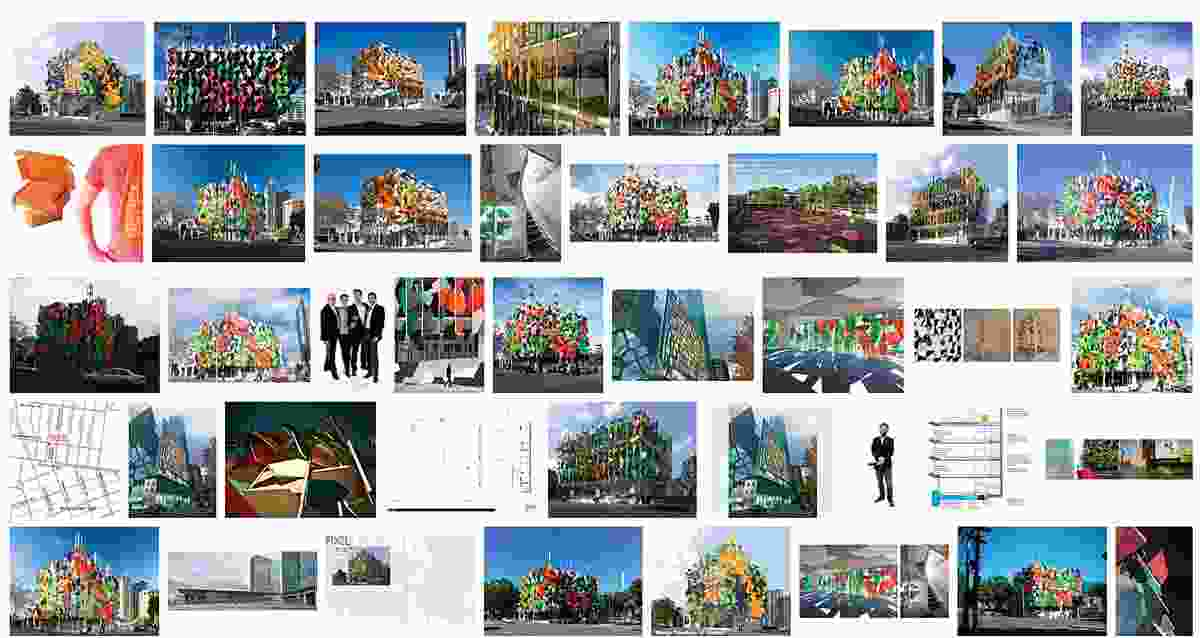 An online image search of Pixel highlights the colourful facade as its signature.