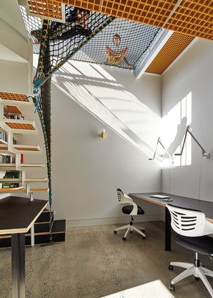 The children's study has been designed with both the present and the future in mind, from Lego to university swotting.