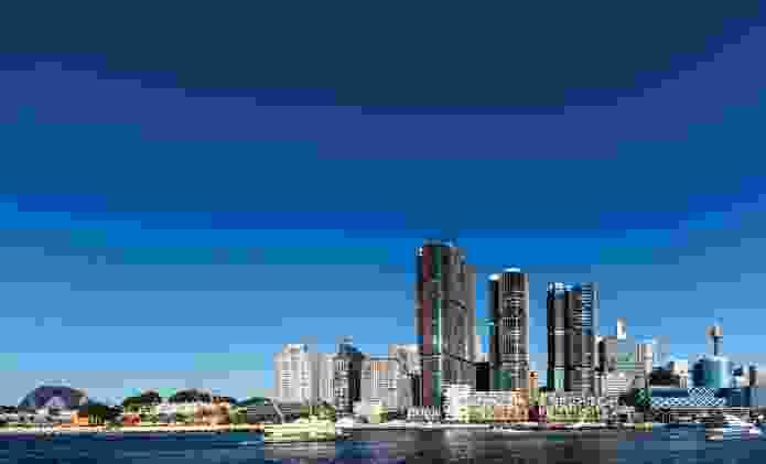 Sydney's Barangaroo.