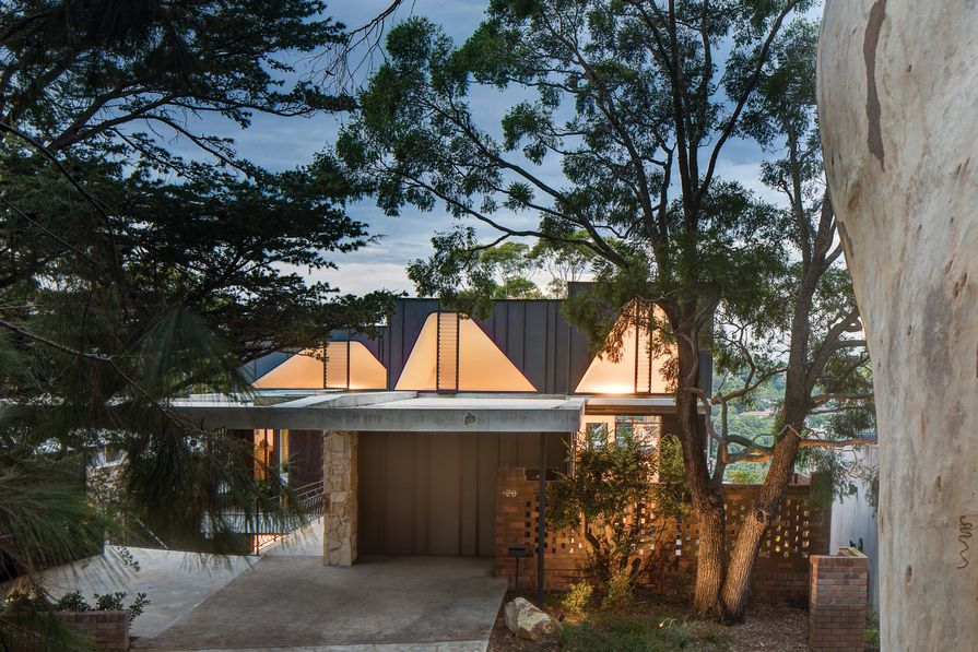 Five Gardens House by David Boyle Architect.