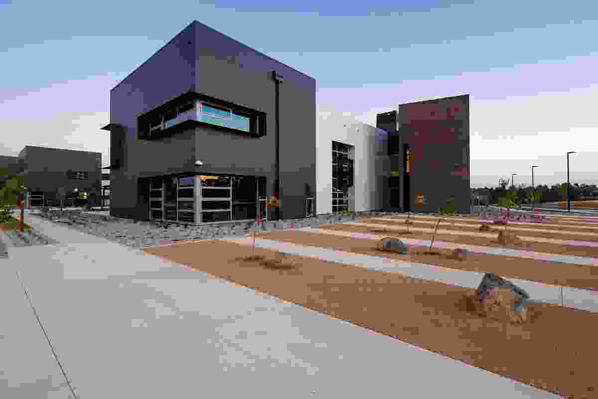 John Paul College by Collins Caddaye Architects.
