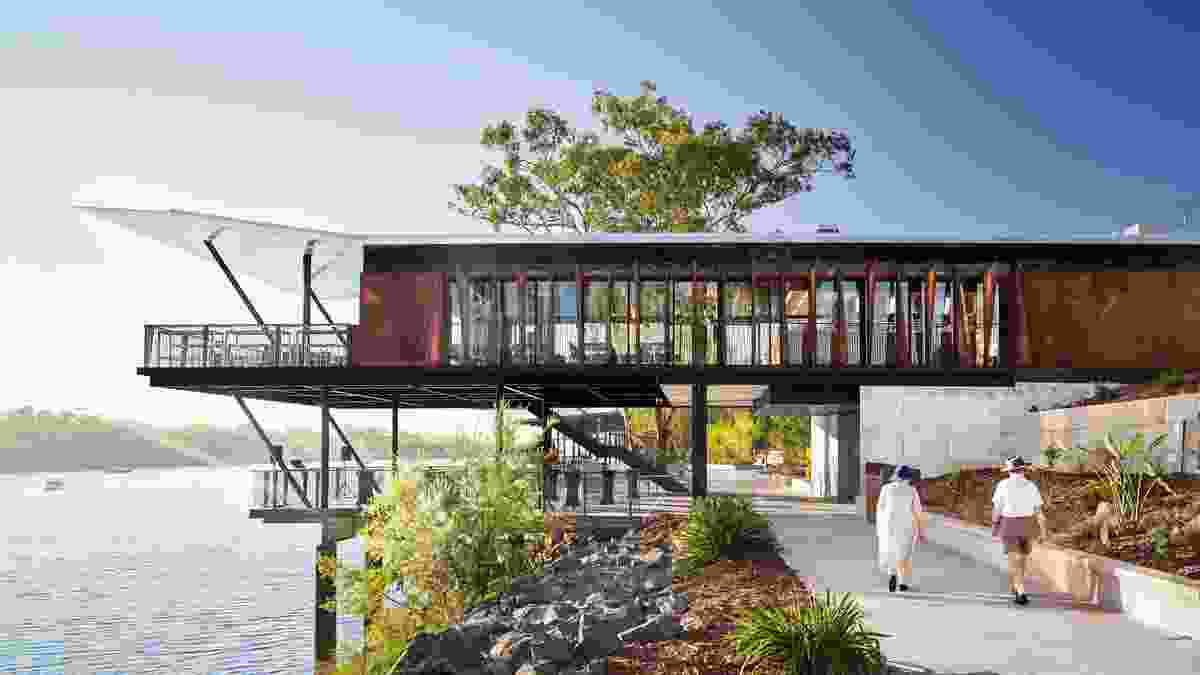 Rockhampton Riverside Precinct by Woods Bagot.
