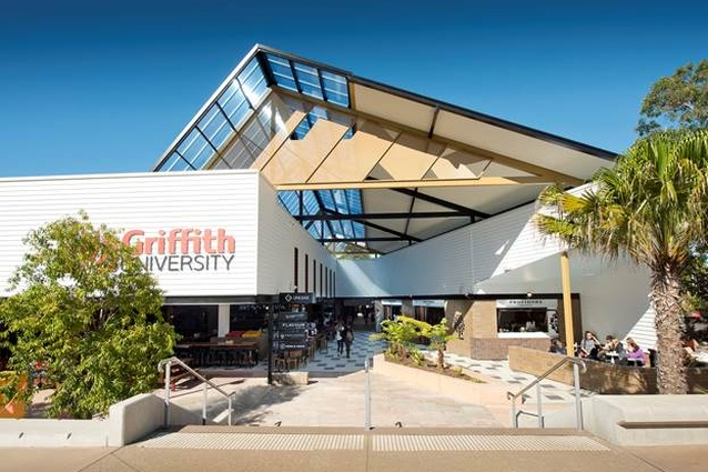 Griffith University Student Guild Uni Bar and Link Eatery by Push.