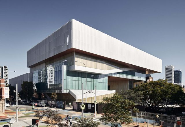 New Museum for Western Australia by Hassell + OMA.