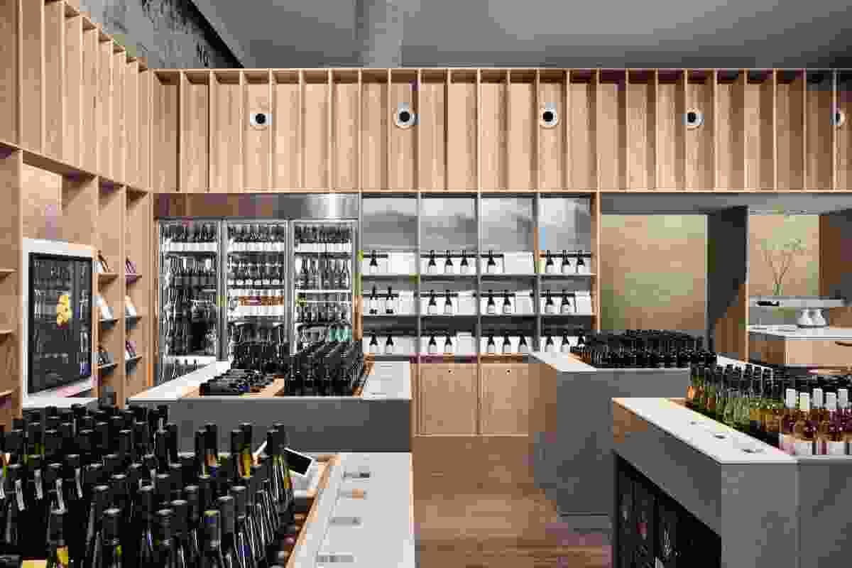 Handpicked Wines Cellar Door by DesignOffice.