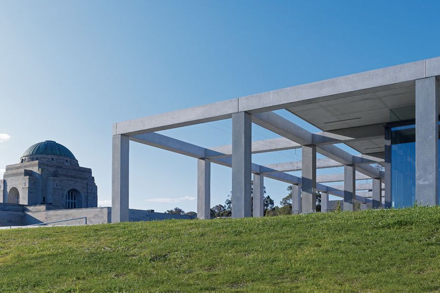 Winner of the 2011 Canberra Medallion – The Australian War Memorial Eastern Precinct by Johnson Pilton Walker.