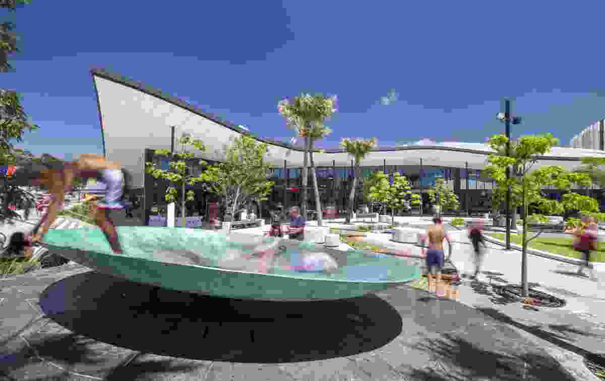 Shellharbour Civic Centre by Turf Design Studio.