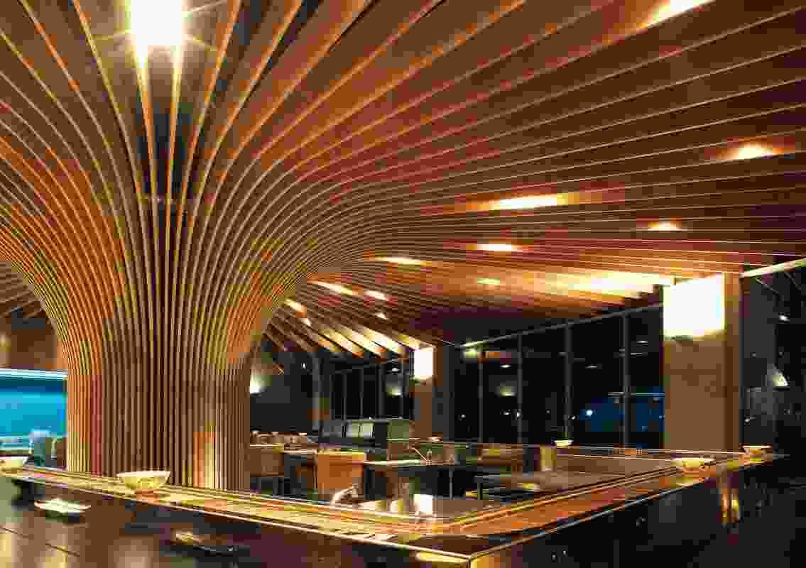 Hospitality Design – Tree Restaurant by Koichi Takada Architects.