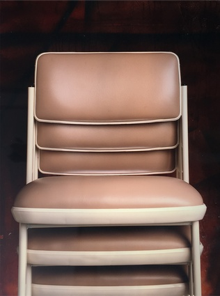 Optima chair designed in 1972 by Nielsen Design Associates for Sebel.