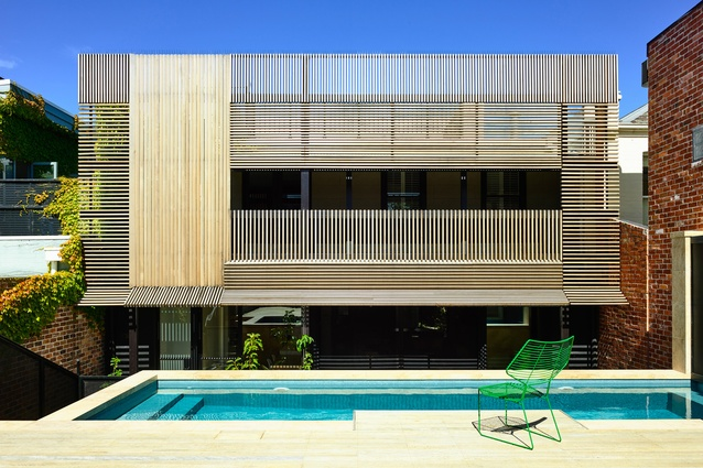 East Melbourne Terrace by Wolveridge Architects.