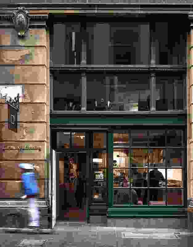 Dukes Flinders Lane by Chris Connell Design.