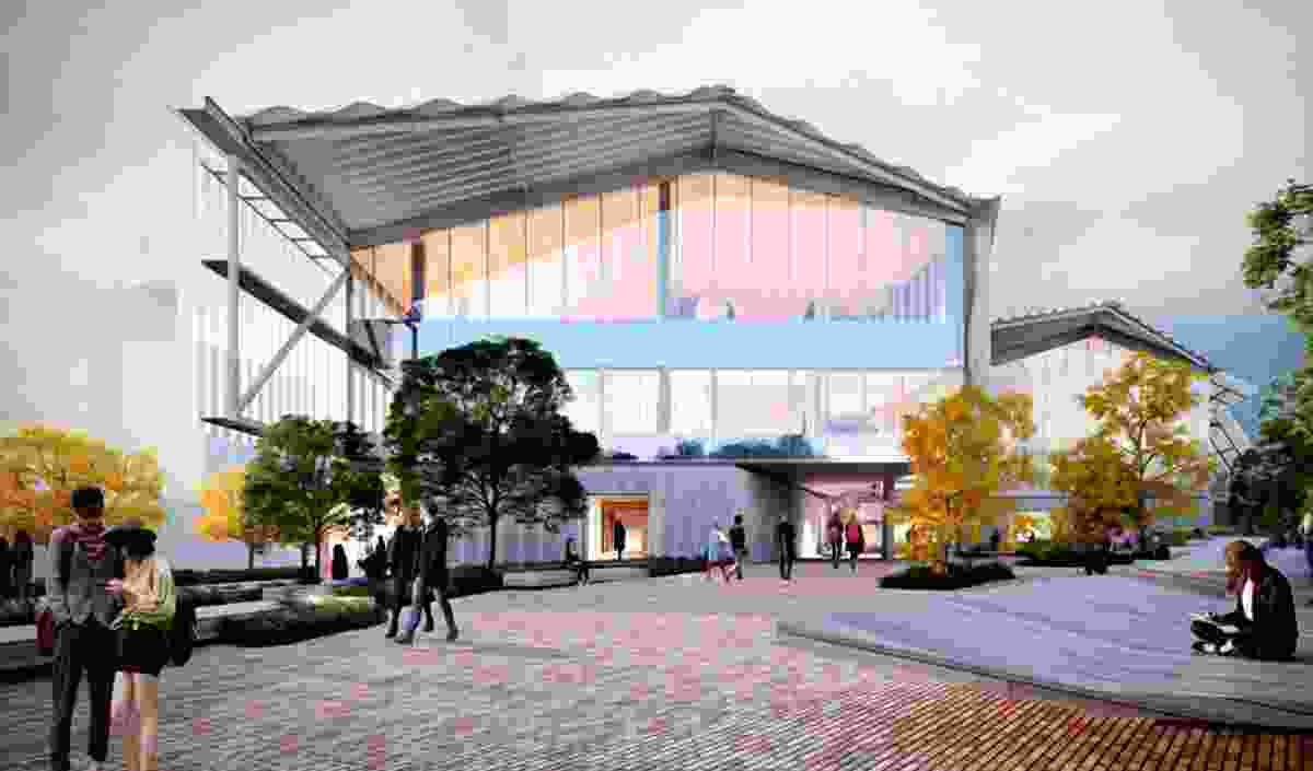 The proposed Willis Street Building at the University of Tasmania designed by John Wardle Architects.