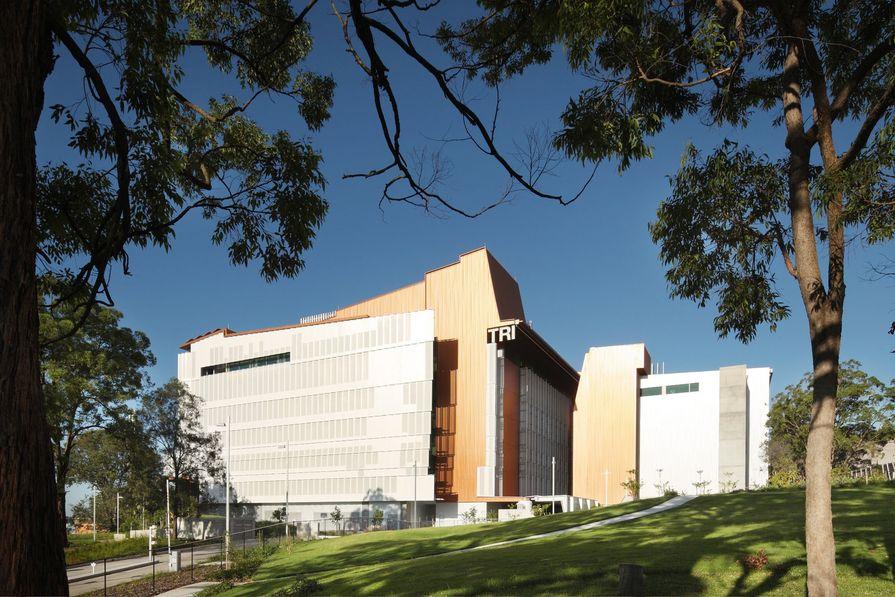 The 8-storey, 40-metre-tall TRI building.