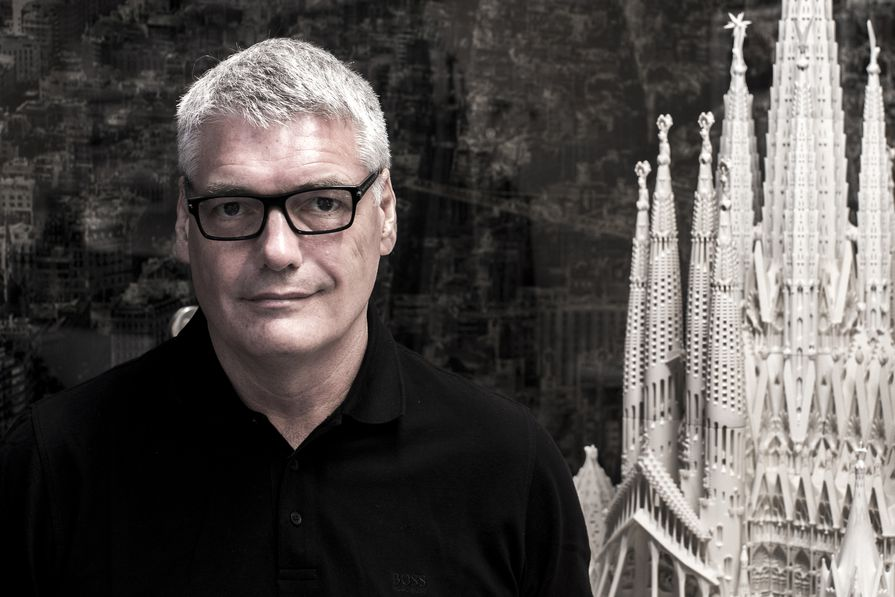 Mark Burry was executive architect and researcher at Antoni Gaudí's Sagrada Família basilica in Barcelona from 1989 to 2016.