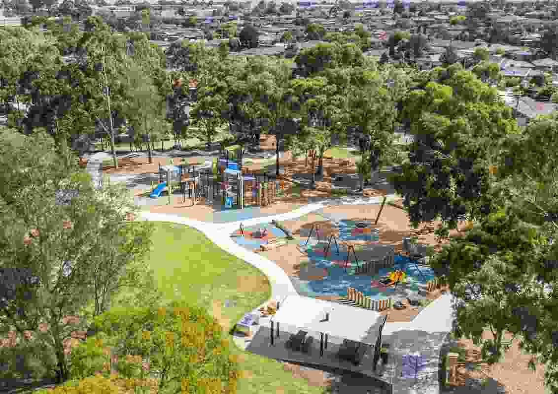 Norris Bank Reserve Play Space by City of Whittlesea / Playce