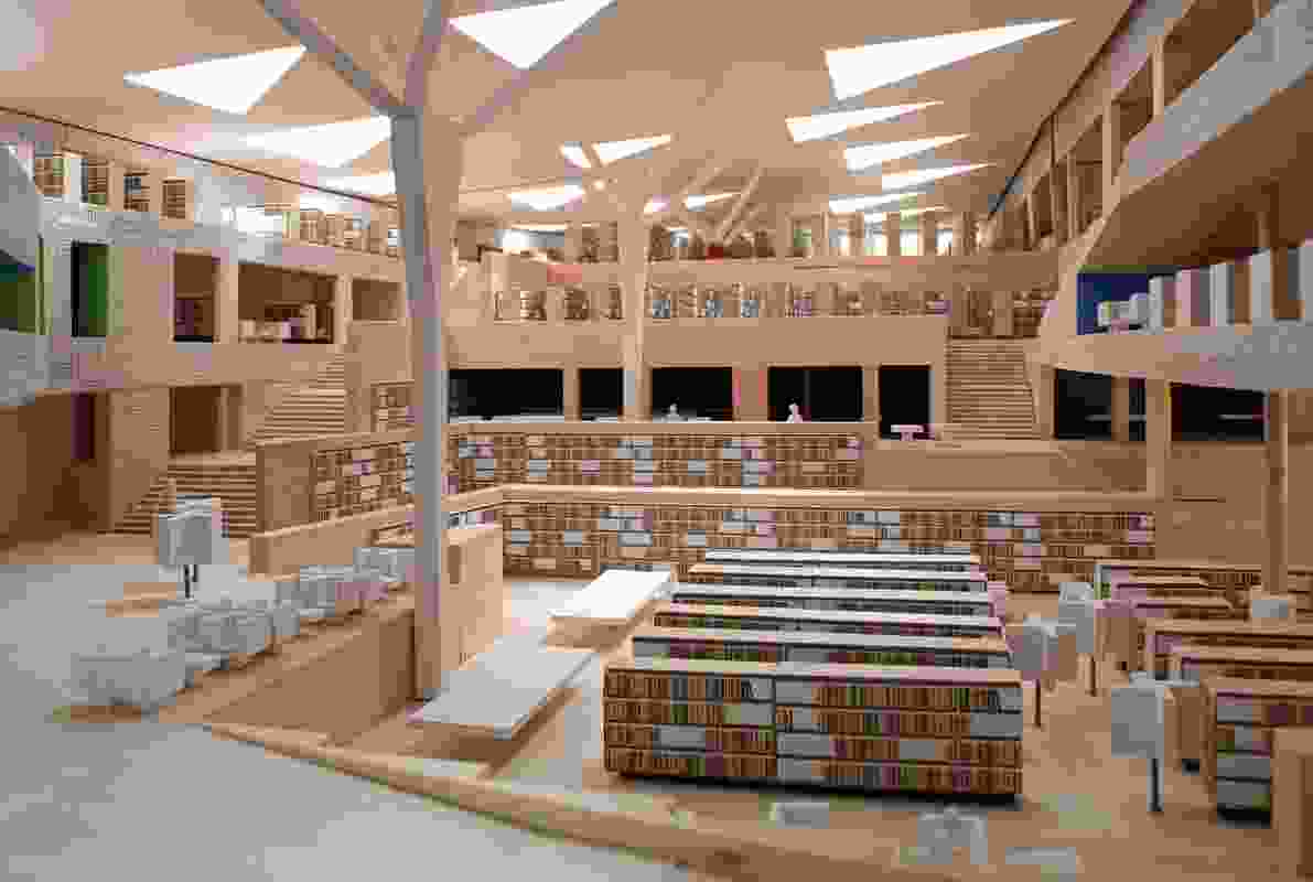 Luxembourg National Library by Bolles and Wilson.