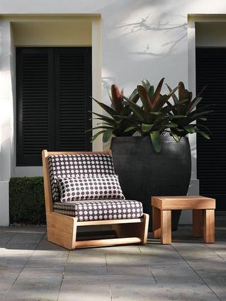 Loop outdoor furniture from Robert Plumb.