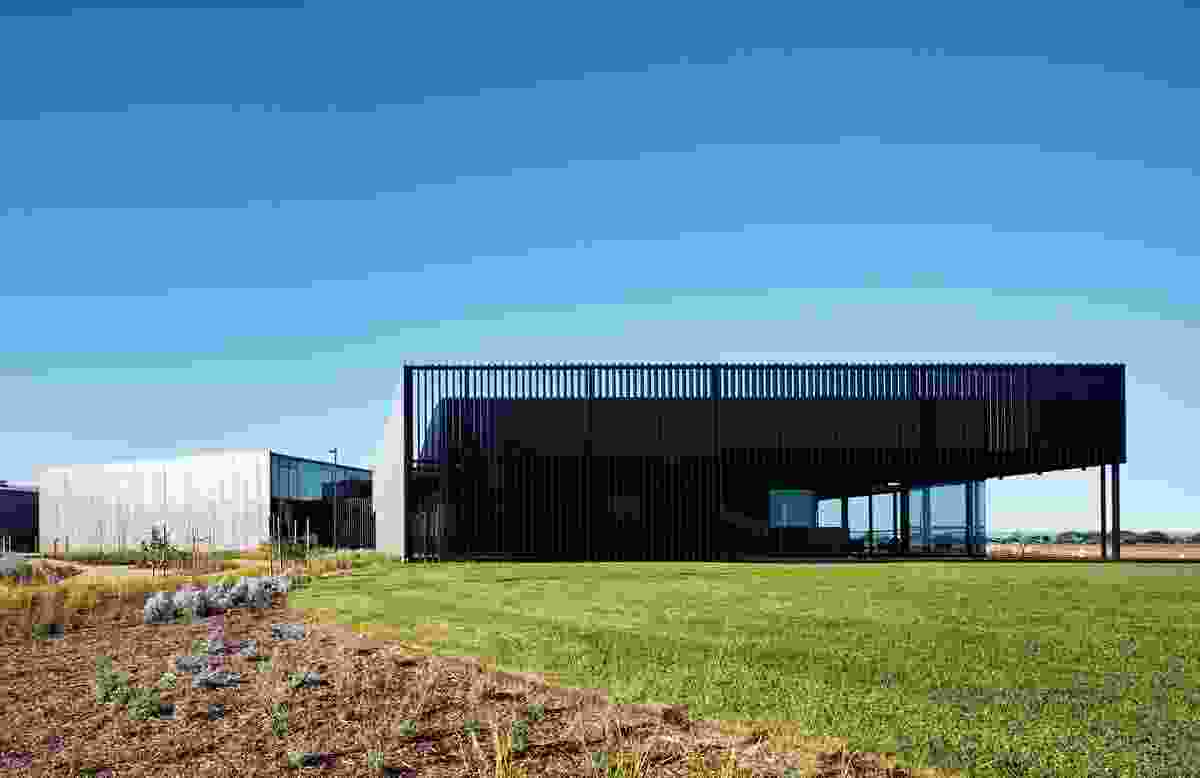 The buildings accommodate a range offunctions, from administrative and laboratory areas to infrastructural components.