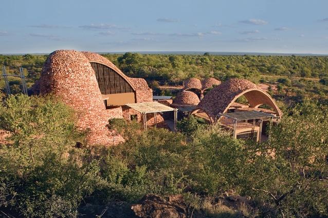 Mapungubwe Interpretation Centre by Peter Rich Architects.