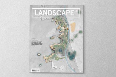 Landscape Architecture Australia 145. Cover image: Bay of Islands precinct plan, Shipwreck Coast Draft Master Plan.