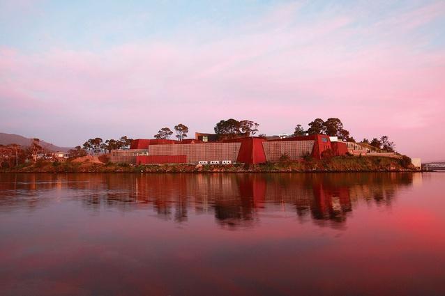 Sir Zelman Cowen Award for Public Architecture – MONA by Fender Katsalidis Architects.