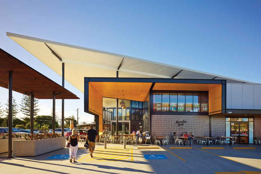 BDA Architecture's Capri on Via Roma (2013) has created a popular waterside hub in Surfers Paradise. It won Regional Project of the Year at the 2014 Australian Institute of Architects Gold Coast and Northern Rivers regional awards.