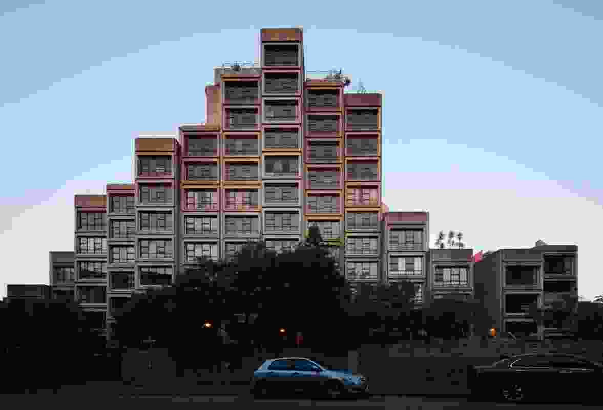 The Sirius social housing complex designed by Tao Gofers, 1979.