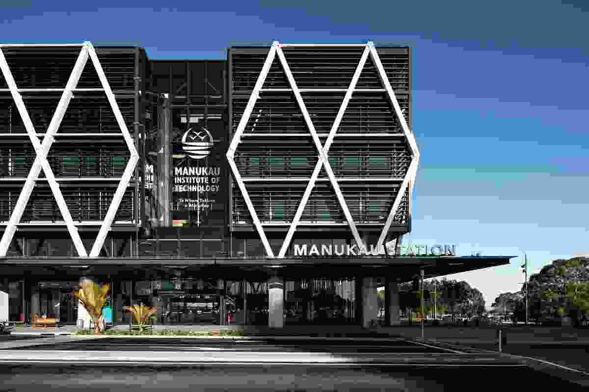 Education winner: MIT Manukau & Transport Interchange by Warren and Mahoney.
