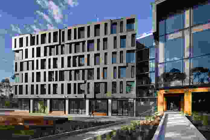 RMIT Bundoora West Student Accommodation by Richard Middleton Architects.