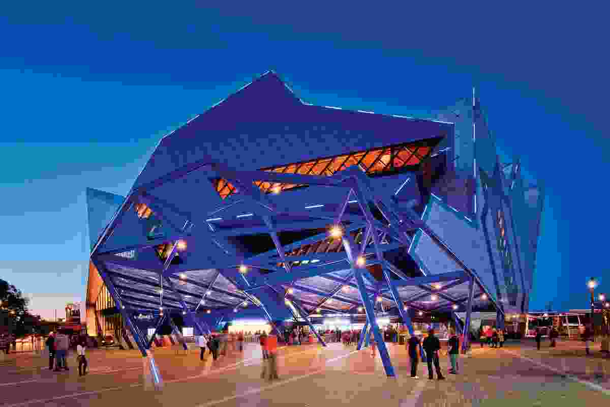 Perth Arena, Perth (2012, joint venture with Cameron Chisholm Nicol).