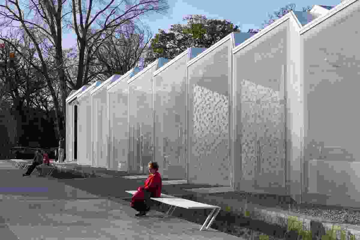 Christchurch Botanical Gardens Centre by Pattersons Associates.