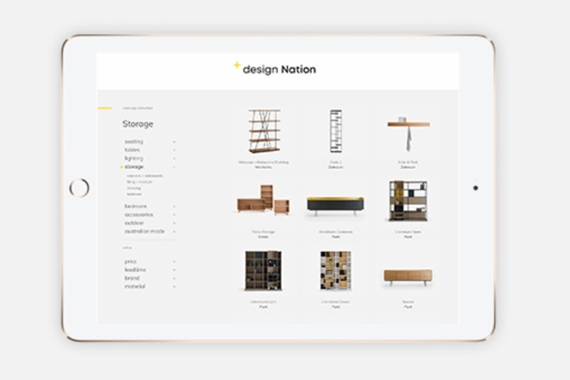 The new Design Nation website puts a range of useful information about its diverse range within easy reach.