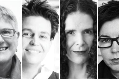 L-R: Ursula de Jong, Julie Willis, Vivian Mitsogianni, Naomi Stead.