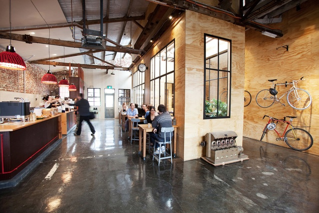 Seven Seeds cafe by Breathe Architecture.