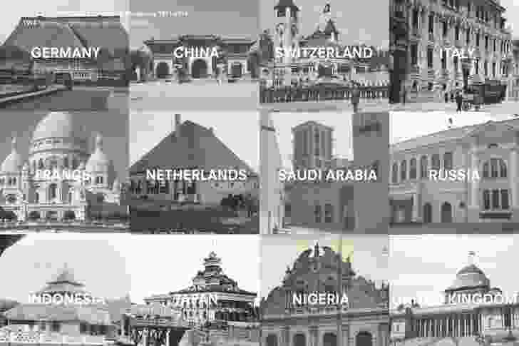 Absorbing Modernity 1914–2014 invites countries to show how their national architectural identities have been erased through modernity. The proposition being that In 1914, national architecture is still recognizable.
