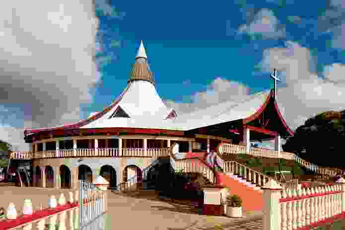 Basilica of Saint Anthony of Padua in Nuku'alofa, Tonga.
