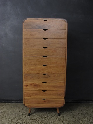 Arched Edge Chest by Christian Cole Furniture.