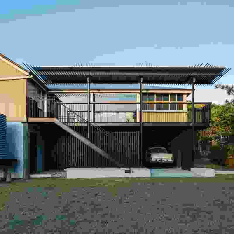 Solar Verandah – Manly Heritage House by PHAB Architects.