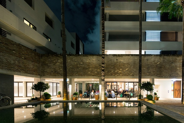 """Casba was awarded the Best Mixed Use Building at the World Architecture Festival in 2015, demonstrating an appreciation for street life, the human-scale, homeliness and familiar """"old-school"""" materials."""