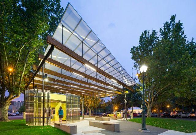 Howard Place, Bendigo, Williams Boag Architects设计。