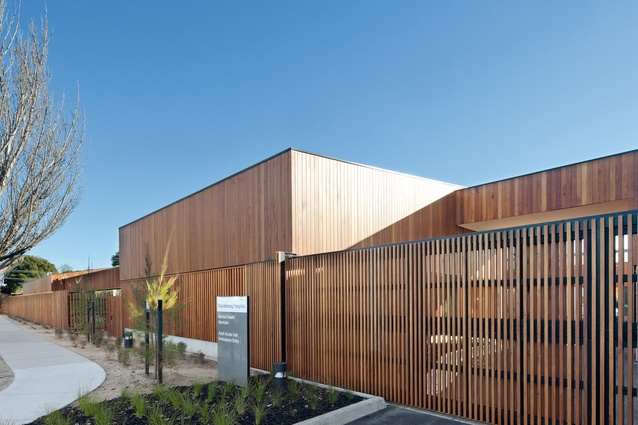 Dandenong Mental Health Facility by Bates Smart (in collaboration with Irwin Alsop Group).